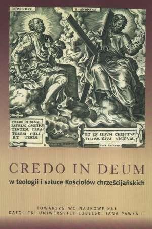 Credo in deum w teologii i sztuce - okładka książki