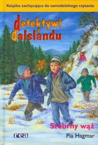 Detektywi z Dalslandu. Srebrny - okładka książki