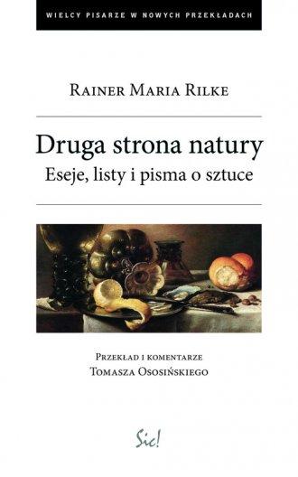 Druga strona natury - okładka książki