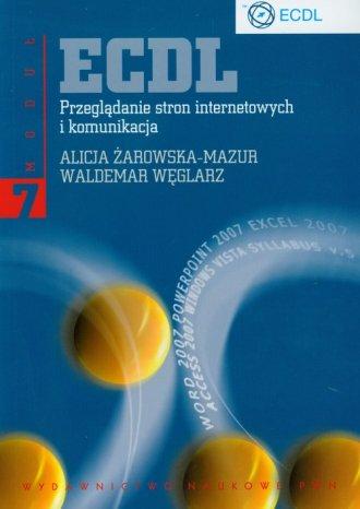 ECDL. Przeglądanie stron internetowych - okładka książki