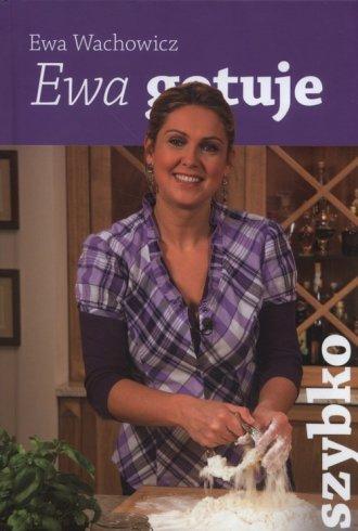Ewa gotuje szybko - okładka książki