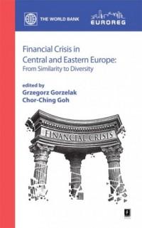 Financial Crisis in Central and - okładka książki