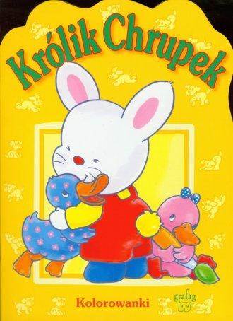 Królik Chrupek. Kolorowanka - okładka książki