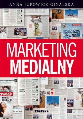 Marketing medialny - okładka książki