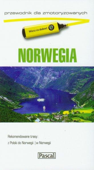 Norwegia Przewodnik dla zmotoryzowanych - okładka książki