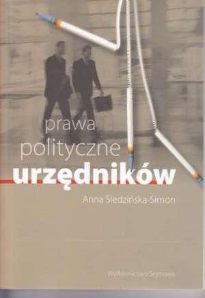 Prawa polityczne urzędników - okładka książki