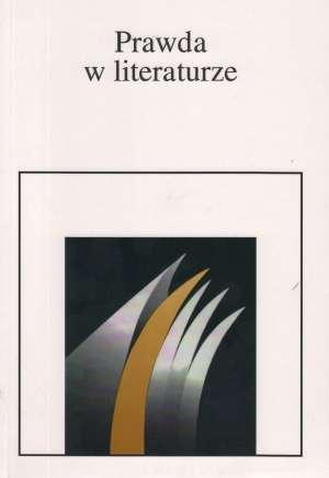 Prawda w literaturze - okładka książki