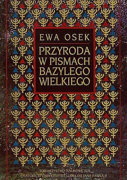 Przyroda w pismach Bazylego Wielkiego - okładka książki