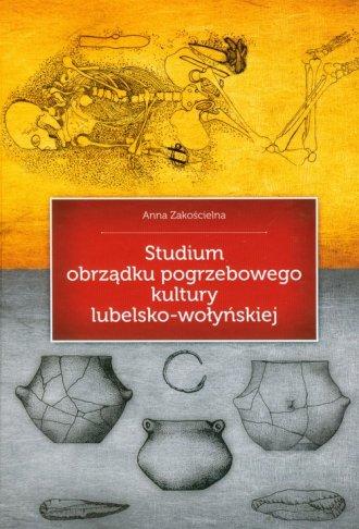 Studium obrządku pogrzebowego kultury - okładka książki