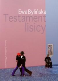 Testament lisicy - okładka książki