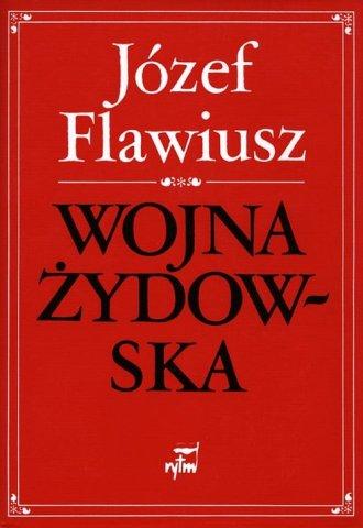 Wojna Żydowska - okładka książki
