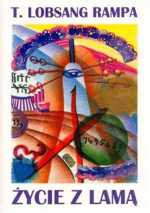 Życie z Lamą - okładka książki