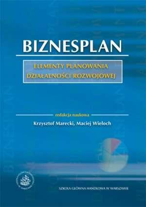Biznesplan. Elementy planowania - okładka książki