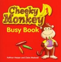 Cheeky Monkey 1. Busy Book - okładka podręcznika