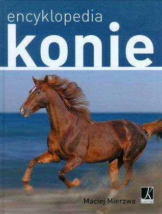 Encyklopedia. Konie - okładka książki
