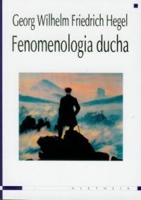 okładka książki - Fenomenologia ducha
