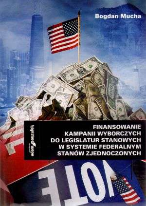 Finansowanie kampanii wyborczych - okładka książki