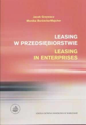 Leasing w przedsiębiorstwie. Leasing - okładka książki