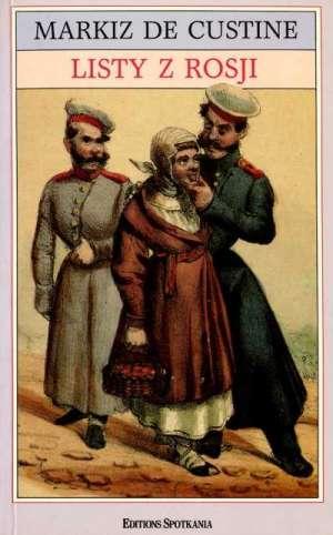 Listy z Rosji. Rosja w 1839 roku - okładka książki