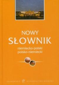 Nowy słownik niemiecko-polski, polsko-niemiecki - okładka książki