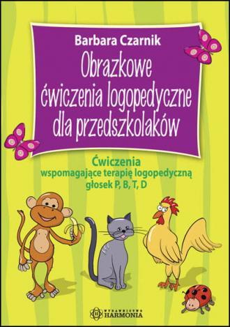 Obrazkowe ćwiczenia logopedyczne - okładka książki