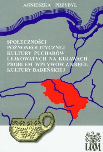 Społeczności późnoneolitycznej - okładka książki