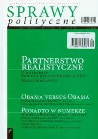 Sprawy polityczne 1/2010 - okładka książki