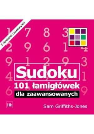Sudoku. 101 łamigłówek dla zaawansowanych - okładka książki