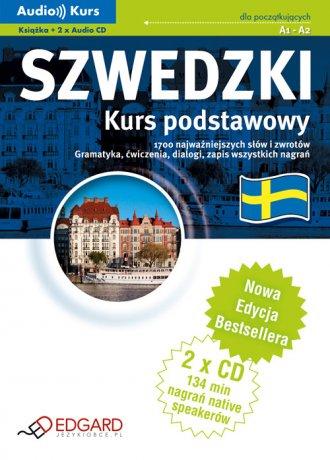 Szwedzki. Kurs podstawowy (+ CD) - okładka podręcznika
