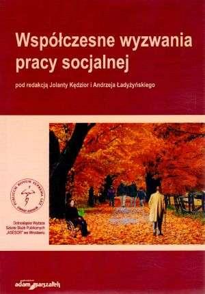 Współczesne wyzwania pracy socjalnej - okładka książki