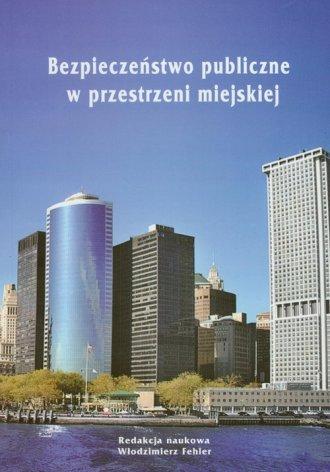 Bezpieczeństwo publiczne w przestrzeni - okładka książki