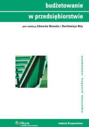 Budżetowanie w przedsiębiorstwie - okładka książki