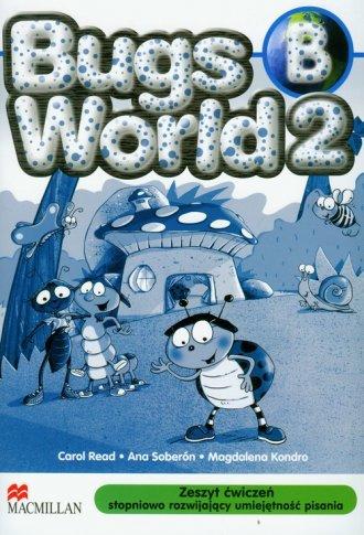 Bugs World 2 B. Język angielski. - okładka podręcznika
