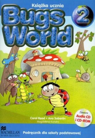 Bugs World 2. Podręcznik (+ CD-ROM) - okładka podręcznika