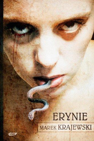Erynie - okładka książki