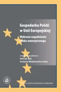 Gospodarka Polski w Unii Europejskiej. - okładka książki