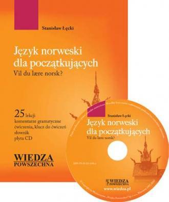 Język norweski dla początkujących. - okładka podręcznika