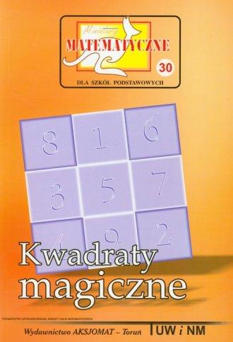 Miniatury matematyczne 30. Kwadraty - okładka podręcznika