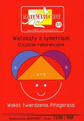 Miniatury matematyczne 31. Wielokąty - okładka podręcznika