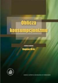 Oblicza konsumpcjonizmu - okładka książki