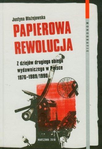 Papierowa rewolucja - okładka książki