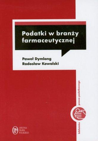 Podatki w braży farmaceutycznej - okładka książki
