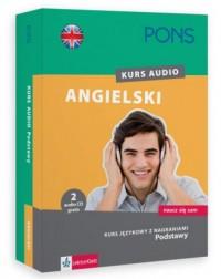 Pons. Angielski kurs audio. Podstawy - okładka podręcznika