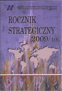 Rocznik strategiczny 2009/10 - okładka książki