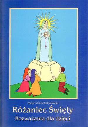 Różaniec Święty. Rozważania dla - okładka książki