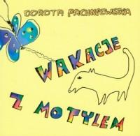 Wakacje z motylem - okładka książki