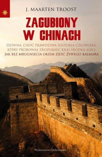 Zagubiony w Chinach - okładka książki
