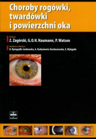 Choroby rogówki, twardówki i powierzchni - okładka książki