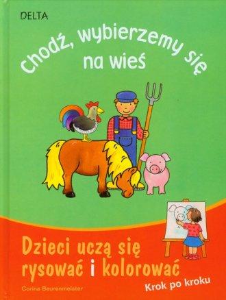 Dzieci uczą się rysować i kolorować. - okładka książki