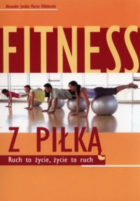 Fitness z piłką - okładka książki